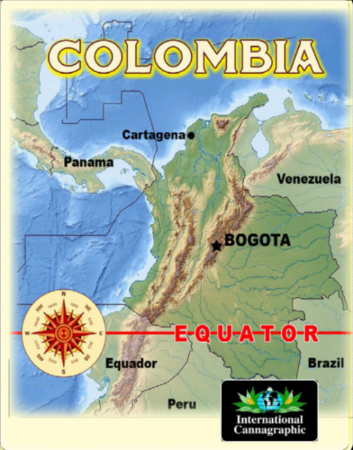colombia map copy